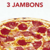 Pizza 3 Jambons Junior