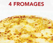Pizza 4 Fromages Junior