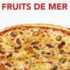 Pizza Fruits de mer Famil.