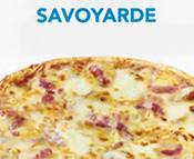 Pizza Savoyarde Junior